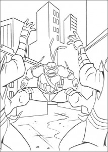 coloring page Ninja Turtles (22)