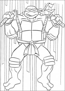 coloring page Ninja Turtles (27)
