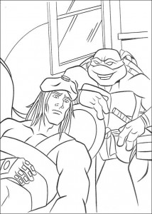 coloring page Ninja Turtles (33)
