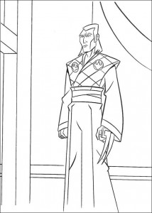 disegno da colorare Tartarughe Ninja (34)