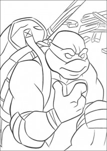 coloring page Ninja Turtles (36)