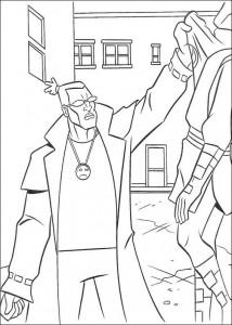 disegno da colorare Tartarughe Ninja (40)