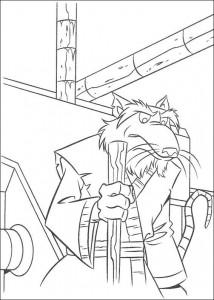 disegno da colorare Tartarughe Ninja (56)