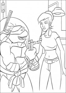 coloring page Ninja Turtles (57)