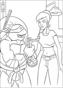disegno da colorare Tartarughe Ninja (57)