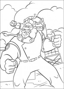 coloring page Ninja Turtles (9)