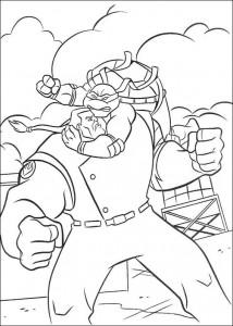 disegno da colorare Tartarughe Ninja (9)