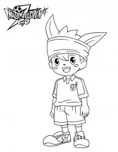 coloring page Nishizono