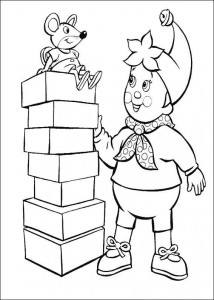 coloring page Noddy (1)