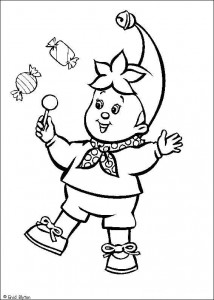 coloring page Noddy (10)