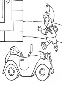 coloring page Noddy (2)