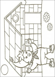 coloring page Noddy (4)
