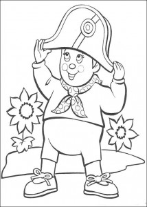 pagina da colorare Noddy (5)