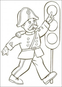 coloring page Noddys friends (1)