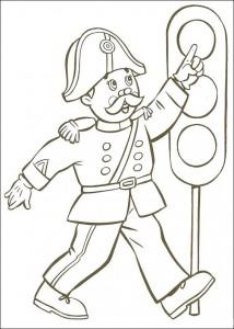 Disegno da colorare Noddys Friends (1)