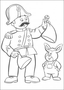 coloring page Noddys friends