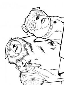 målarbok Nötknäppare (3)