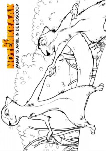 målarbok Nötknäppare