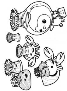kleurplaat Octonauts (10)