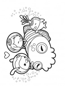 coloring page Octonauts (11)