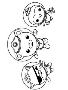 kleurplaat Octonauts (17)