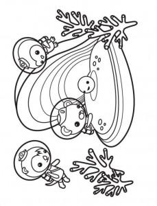 kleurplaat Octonauts (5)