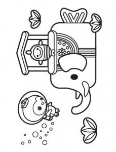 kleurplaat Octonauts (6)