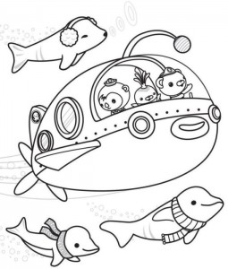pagina da colorare Octonauts (9)