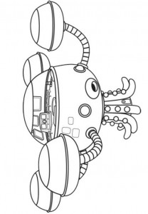 coloring page Octonauts