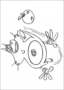 Coloring page Oggy and the cockroaches (28)