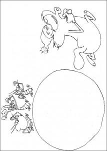 målarbok Oggy och kackerlackorna (7)