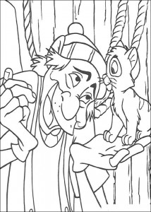 coloring page Oliver and Co (10)