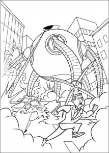 coloring page Omnidroid 9000