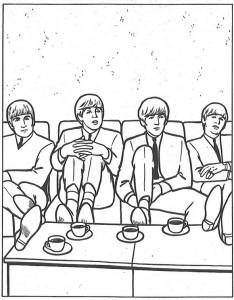 målarbok På soffan