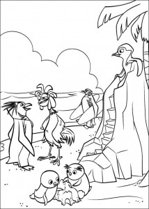 coloring page On the beach (3)