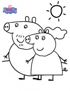 Opa och Oma från Peppa