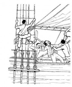 coloring page Revolt on the Amistad