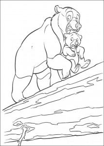 coloring page About a tree trunk