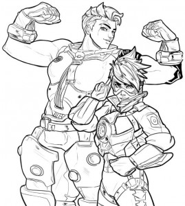 coloring page overwatch-05