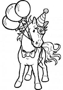 kleurplaat Paarden (13)