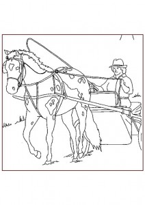 coloring page Horses (23)