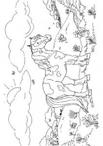 målarbok Hästar (25)