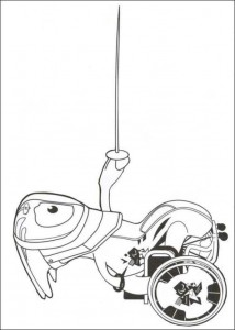 coloring page paralympics