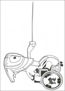 kleurplaat paralympics