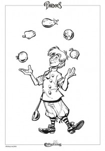 coloring page Pardoes Polle