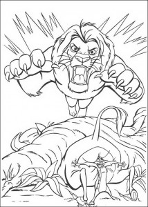 coloring page Beware! (1)