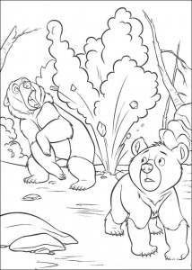 coloring page Beware!