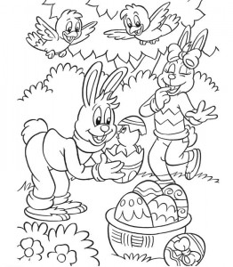 coloring page Easter (4)