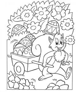 χρωματίζοντας σελίδα Πάσχα (5)