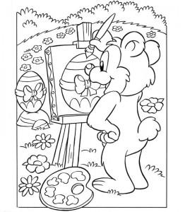 χρωματίζοντας σελίδα Πάσχα (6)